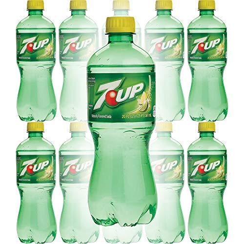 7UP, 20 oz Bottle (Pack of 8, Total of 160 Fl Oz)