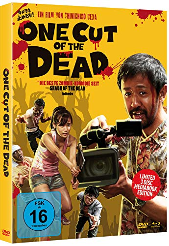 One Cut of the Dead - 3 Disc Limited Mediabook Edition (+ DVD) (+ Bonus-DVD) [Blu-ray]