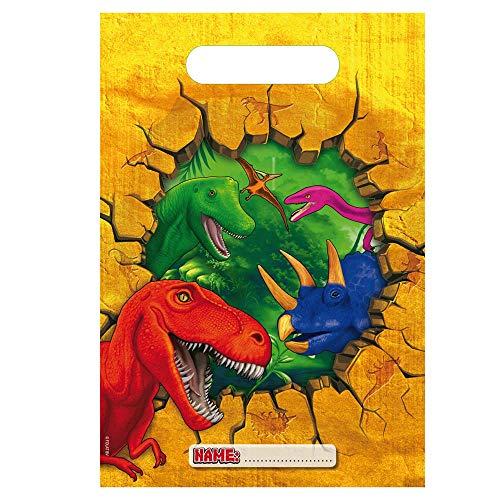 Folat 6 Partytüten * T-Rex/ Dinosaurier * für Party und Geburtstag