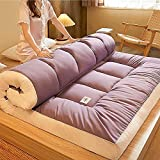 NNLX Tatami futón colchones, colchón Plegable japonés futón, colchón Plegable Almohadilla de Tatami Tatami Alfombrilla...