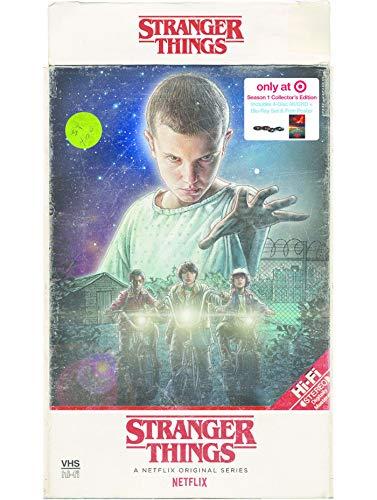 Stranger Things - Staffel 1 - Target VHS 4k Retro Edition (Import ohne dt. Ton)