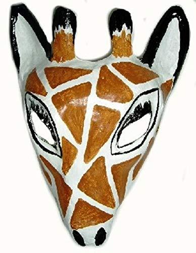 Giraffe varkentje masker voor kinderen en volwassenen