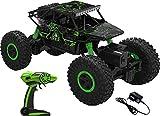 AJUDIYA ENTERPRISE 1:18 Rechargeable 4Wd 2.4GHz Rock Crawler Off Road R/C Car Monster