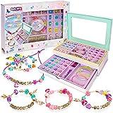 Style Girlz Unicorn Jewellery Making Kit - Kids Friendship Bracelets & Necklaces Set