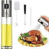 Oil Spritzer Mister for Air Fryer Olive Oil Sprayer Cooking Bottle for Vinegar Canola Vegetable Oil...