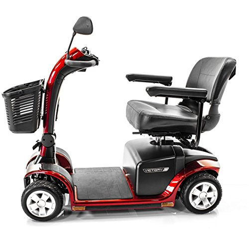 Buy Bargain VICTORY 9 Pride 4-wheel Electric Mobility Scooter SC709 Red + Accessories