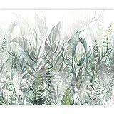 murando Fotomurales autoadhesivo Verde Hojas 343x256 cm Papel Pintado Decoración de Pared Murales Pegatina decorativos adhesivos de Diseno Fotográfico Naturaleza Plantas Como Pintadot b-A-0696-a-b