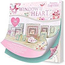 Hunkydory Window to The Heart Craft Stack STACK008