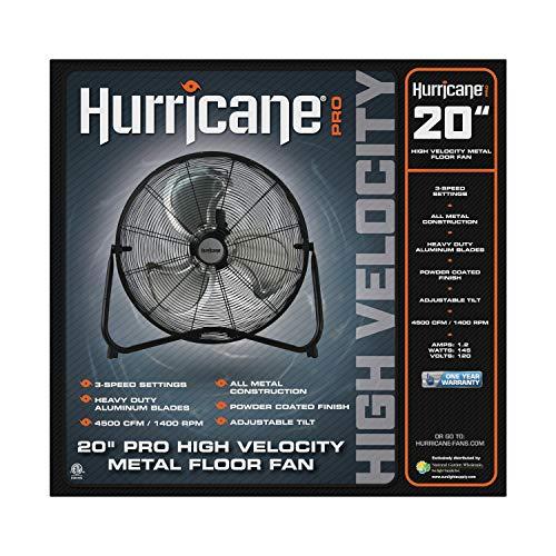 Hurricane Floor Fan Pro Series
