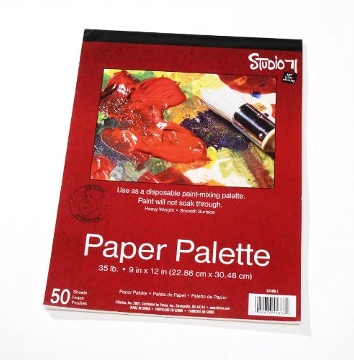 Darice 97490-1 Paper Palette 9-Inch-by-12-Inch , 50-Sheets