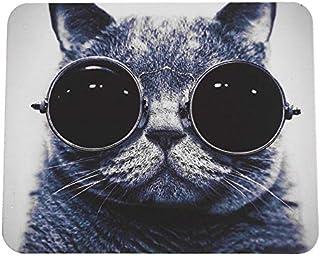 Cat Pattern Anti-Slip Laptop PC Mice Pad Mat Mousepad For Optical Laser Mouse