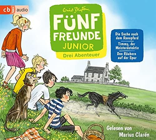 Fünf Freunde JUNIOR - Drei Abenteuer - Die Suche nach dem Rennpferd. Timmy, der Meisterdetektiv. Den Räubern auf der Spur