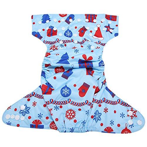 Milieuvriendelijke herbruikbare baby zwemluiertas met klittenbandsysteem, verstelbaar, eenvoudig wasgoed, waterdichte zwembroek voor pasgeboren baby. BL025