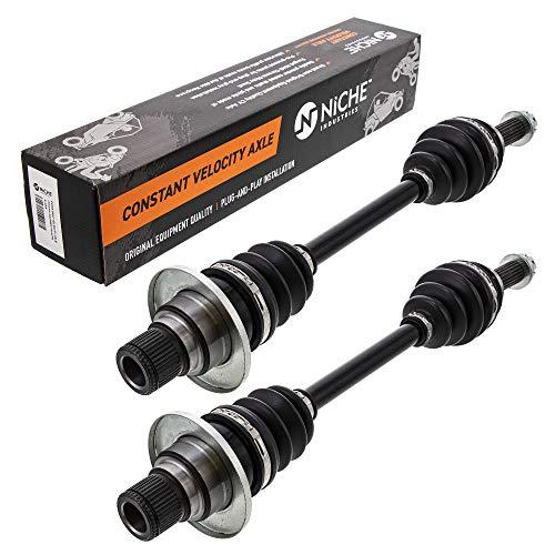 NICHE High Strength Rear Axle for 2005-2018 Suzuki King Quad LTA 450 500 64901-31G41 64901-31G31 2 Pack