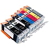 Sophia Global Compatible Ink Cartridge Replacement for PGI-250 CLI-251 (2 Large Black, 1 Small Black, 1 Cyan, 1 Magenta, 1 Yellow, 1 Gray)