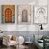 Slagman Marokkanische Tür Wand Kunst Gold Koran Arabische