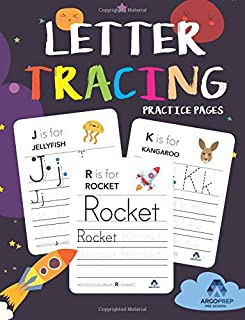 Letter Tracing Book for Preschoolers: Ages 3+ and weekly FREE Bonuses