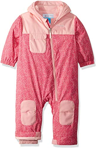 Columbia Unisex Baby Infant Hot-Tot Suit, Rosewater Crackle Print, 3/6