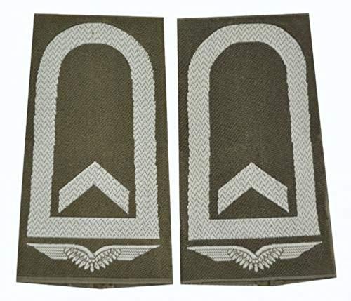 A.Blöchl Bundeswehr Luftwaffe Rangschlaufen Oliv - Silber (Feldwebel)
