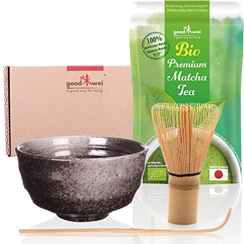 Goodwei -  Matcha Tee