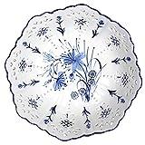 CTO 10 pouces Plate style chinois de fruits en céramique creux Plateau de fruits Compote Creative Salon Café Décoration de...