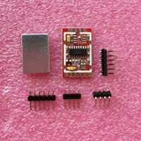HX711 Dual-channel 24-bit A/D Conversion Weighing Sensor Module with Metal Shied