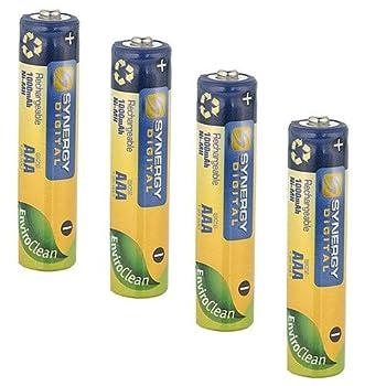 Synergy Digital Cordless Phone Battery Works with Panasonic KX-TGH262B Cordless Phone  Ni-MH 1.25V 1000 mAh  Ultra Hi-Capacity Battery