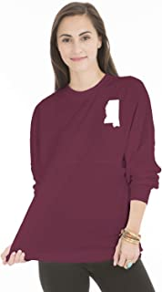 NCAA Mississippi State Bulldogs Long Sleeve Spirit Wear Jersey T-Shirt