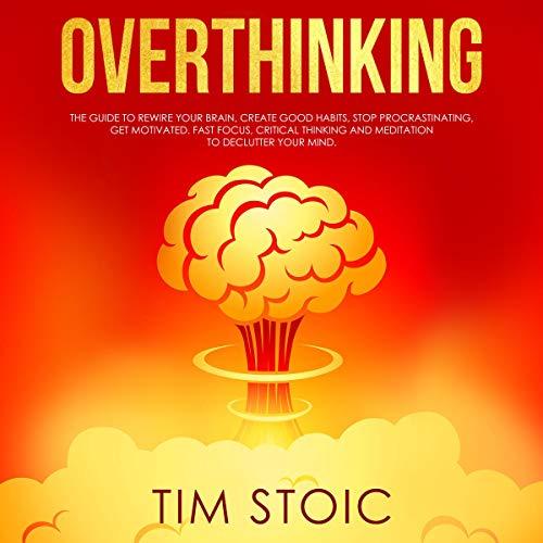 Overthinking audiobook cover art