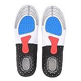 Fastar plantillas gel deportivas para hombre y mujer Calzado de baloncesto de fútbol Zapato...