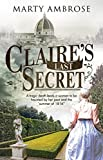 Image of Claire's Last Secret: A historical mystery featuring Lord Byron (A Lord Byron Mystery (1))