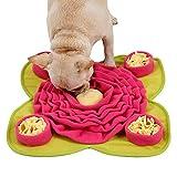 Schnüffelteppich Hund Snuffle Mat,Sniffing Mat Futtermatte Katzen Groß Schnüffeldecke Hund Schadstofffreies Hundespielzeug Schnupftabakmatte Fütterungsmatte für Hunde Schnüffelspielzeug Schnüffelrasen