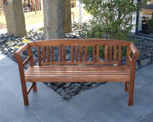 TPFGarden tuinbank 2-zits 3-zits houten tuinbank Rosali acacia massief hout Gartenbank 3-sitzer