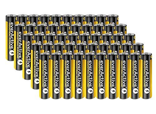 50 Stück Everactive Industrial Batterien Mikro AAA 1100 mAh 1,5 V LR03 Alkaline