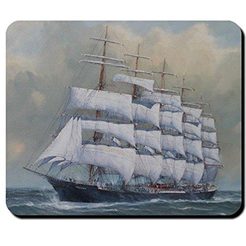 Segelschiff Schiff Preußen Fünfmastvollschiff Reederei F.Laeisz - Mauspad #8583