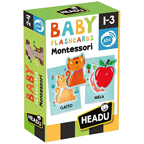 Hedu BABY FLASHCARDS MONTESSORI
