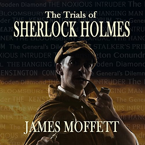 The Trials of Sherlock Holmes audiobook cover art
