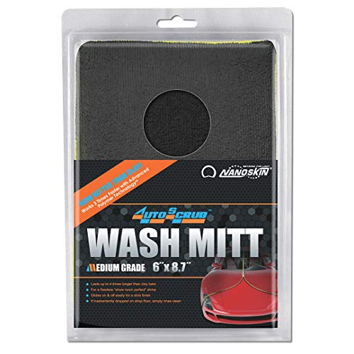AUTOSCRUB Medium Grade Wash Mitt [AS-010]