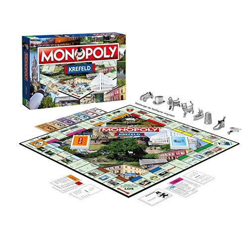 Winning Moves 44512 Monopoly Krefeld - das weltberühmte Spiel um Grundbesitz und Immobilien