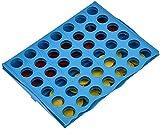 yvyuan 4 En un Juego de Juguetes de Juego de la Tabla de la Fila, Classic Desktop Conexión de ajedrez Educación temprana para niños y Familia