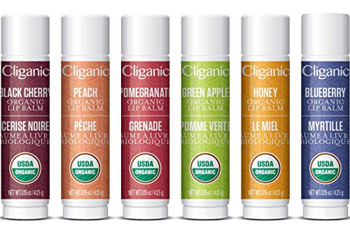 (15% OFF) Cliganic Organic Lip Balm Set $6.79 Deal
