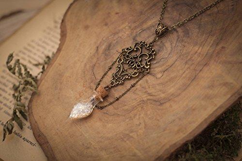 Collar Fantasía, Collar San Valentín, Collar Original, Collar botellita, Collar de hada, Regalo de San Valentín, Regalo para ella