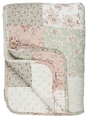IB Laursen - Tagesdecke, Bettüberwurf, Quilt - Baumwolle - Patchwork - gedruckt - 180 x 130 cm