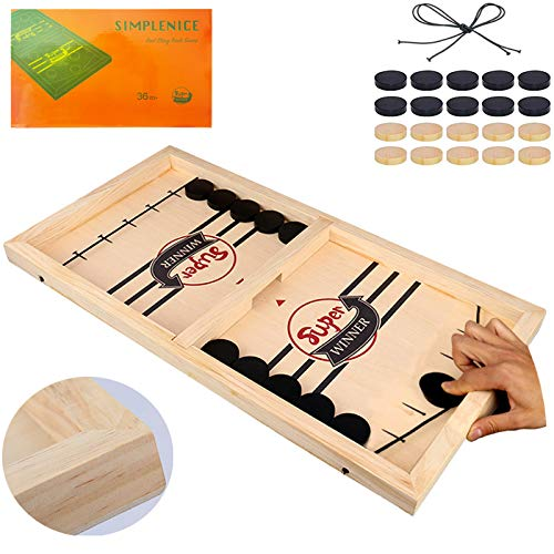 Fast Sling Puck Game Slingshot Games ToyPaced Winner Board Games Toys for Kids amp Adults Large Size