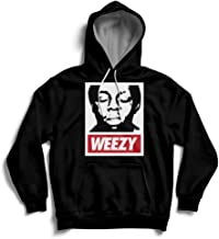 Weezy Louisiana Obey Lil Wayne Streetwear Street Hoody MP3 Earphone Loops Hoodie