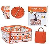 Rubo Toys 0751015 Multicolor parque infantil - Cuna de viaje (750 mm, 300 mm,...