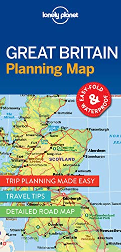 Lonely Planet Great Britain Planning Map 1 (Planning Maps)