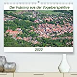 Der Fläming aus der Vogelperspektive (Premium, hochwertiger DIN A2 Wandkalender 2022, Kunstdruck in Hochglanz)