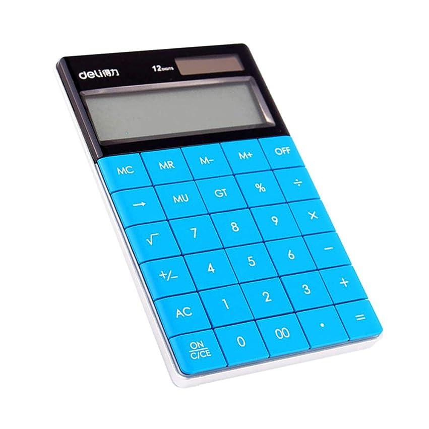状寛容経由でオフィスの電卓、マルチカラーミニかわいい学生電卓、ソーラー財務会計計算機ZDDAB