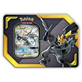 Pokemon TCG: Sun & Moon Team Up Collector's Tin Containing 4 Booster Packs and Featuring A Foil Pikachu & Zekrom GX Card